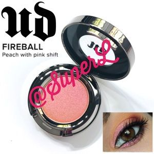 2/$25 Urban Decay Fireball Eyeshadow Peach Pink